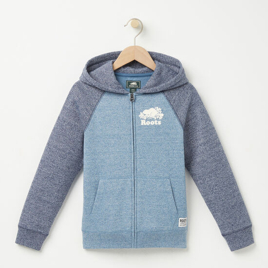 Boys Pepper Contrast Full Zip