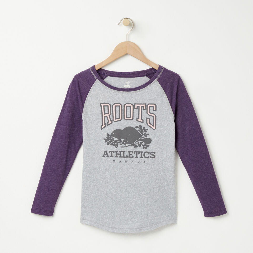 Roots-undefined-Girls Julienne Baseball Top-undefined-A