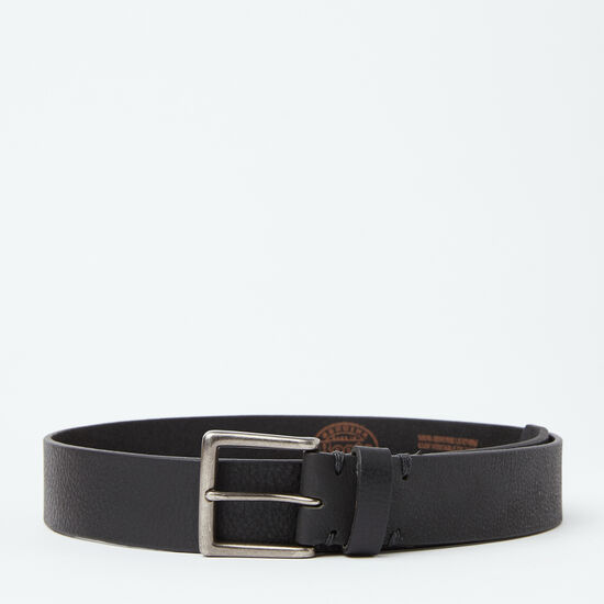 Roots-Men Belts-Don Belt-Black-A