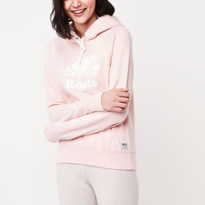 Roots-Women Bestsellers-Original Kanga Hoody-English Rose-A
