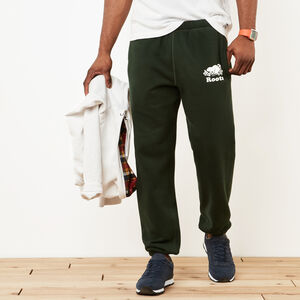 Roots-Men Original Sweatpants-Original Sweatpant-Park Green-A