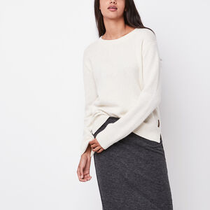 Roots-Women Tops-Evelyn Sweater-Fog-A