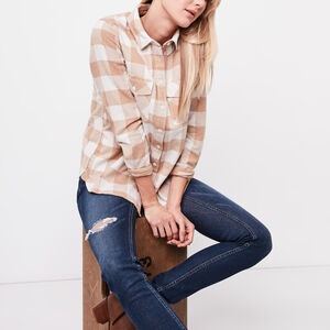 Roots-Gifts Our Picks-Algonquin Shirt-Camel Mix-A