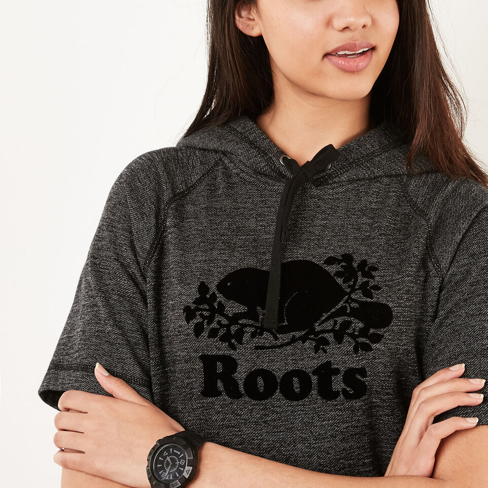 Roots-undefined-Cut Off Hooded Fleece Dress-undefined-C