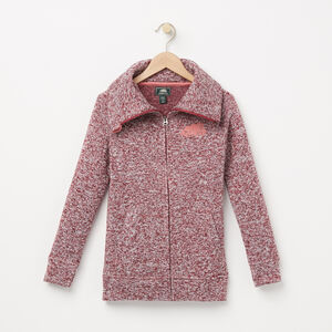 Roots-Kids Outerwear-Girls Lilly Jacket-Rhododendron-A