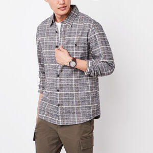Roots-Sale Summit Sale-Crofton Flannel Shirt-Speckle-A