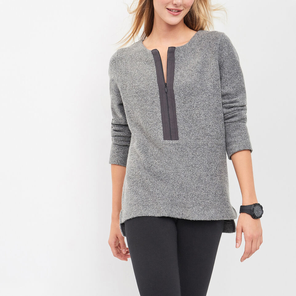 Roots-undefined-Driftwood Quarter Zip Top-undefined-A