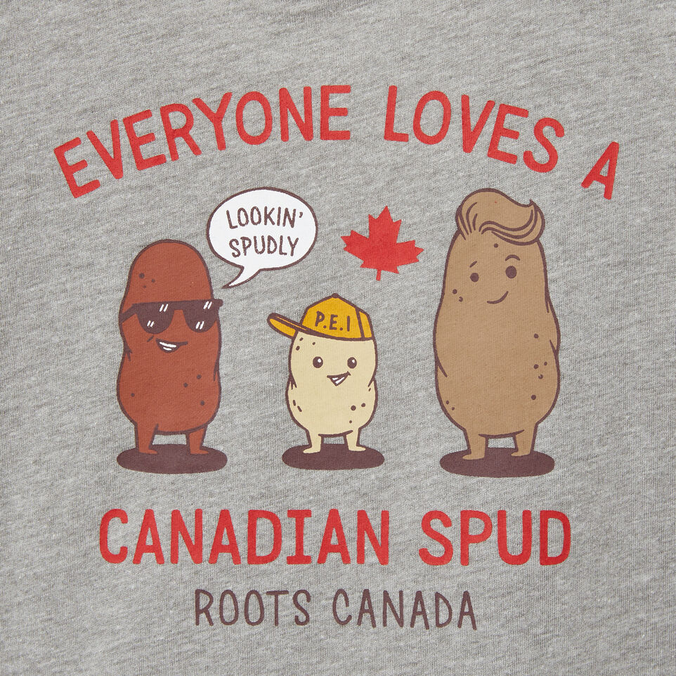 Roots-undefined-Baby Canadian Spud T-shirt-undefined-C