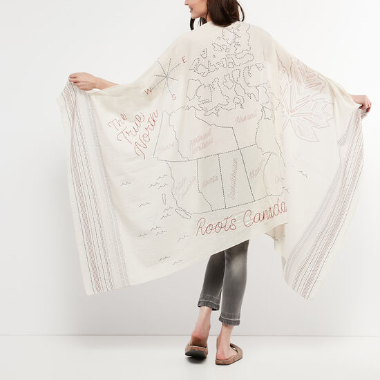 Roots-Women Scarves & Wraps-Victoria Sarong-Multi-A