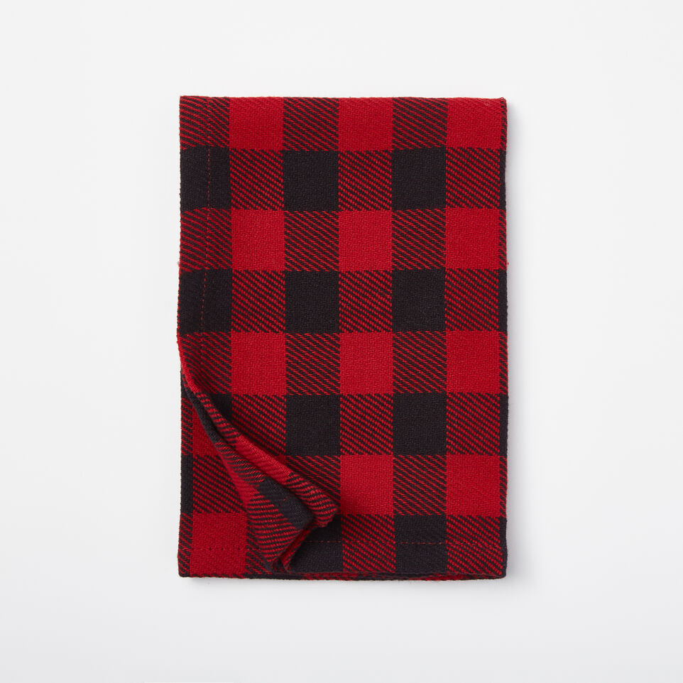 Roots-undefined-Buffalo Plaid Napkins 4 Pack-undefined-B