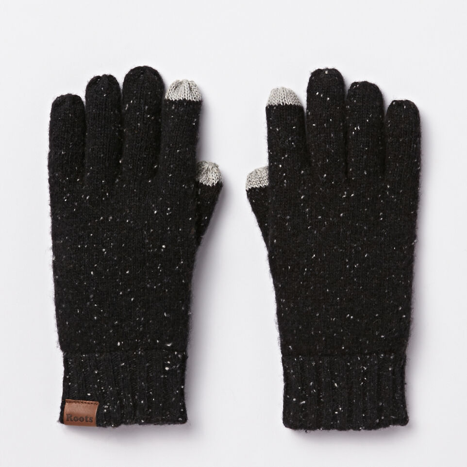 Roots-undefined-Mens Donegal Texting Glove-undefined-B