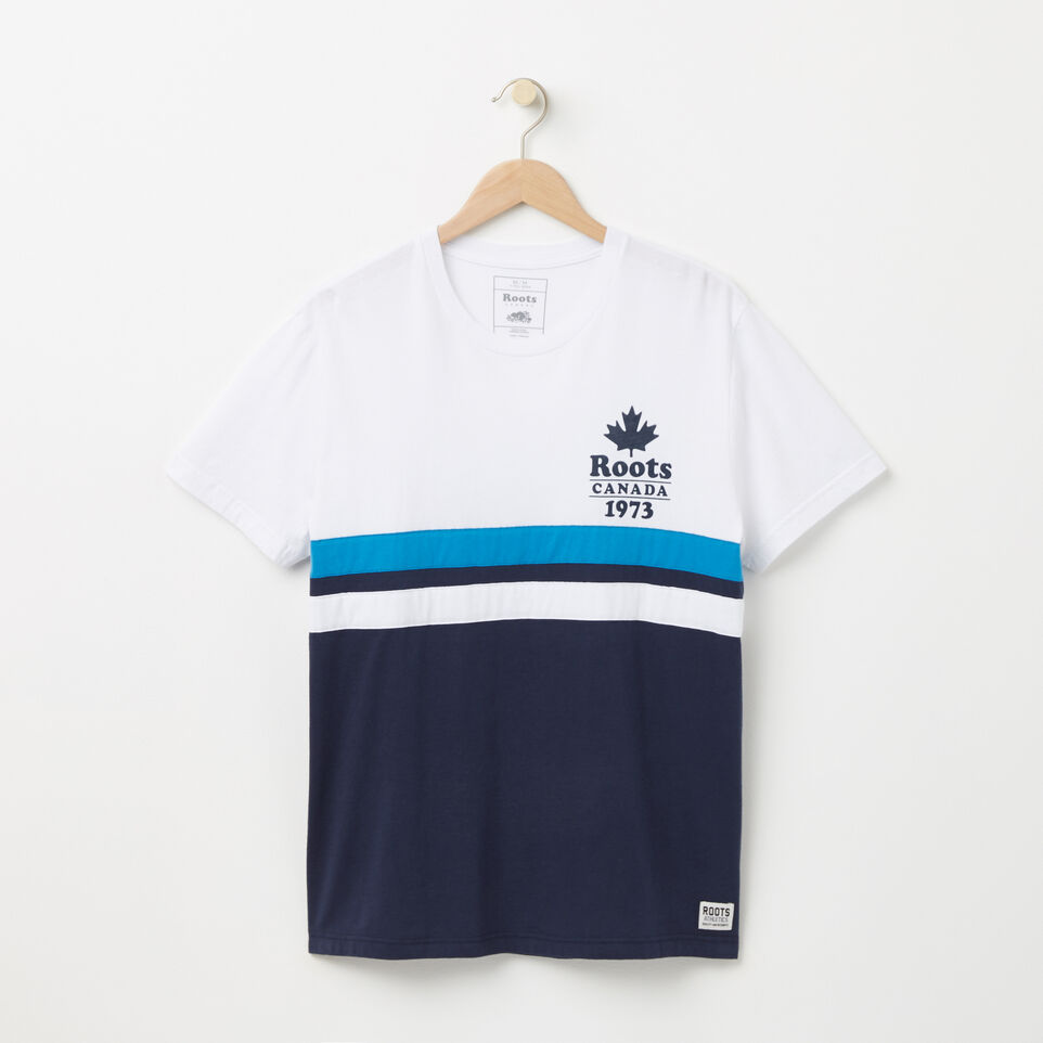 Roots-undefined-Summer Camp Colour Blocked T-shirt-undefined-A