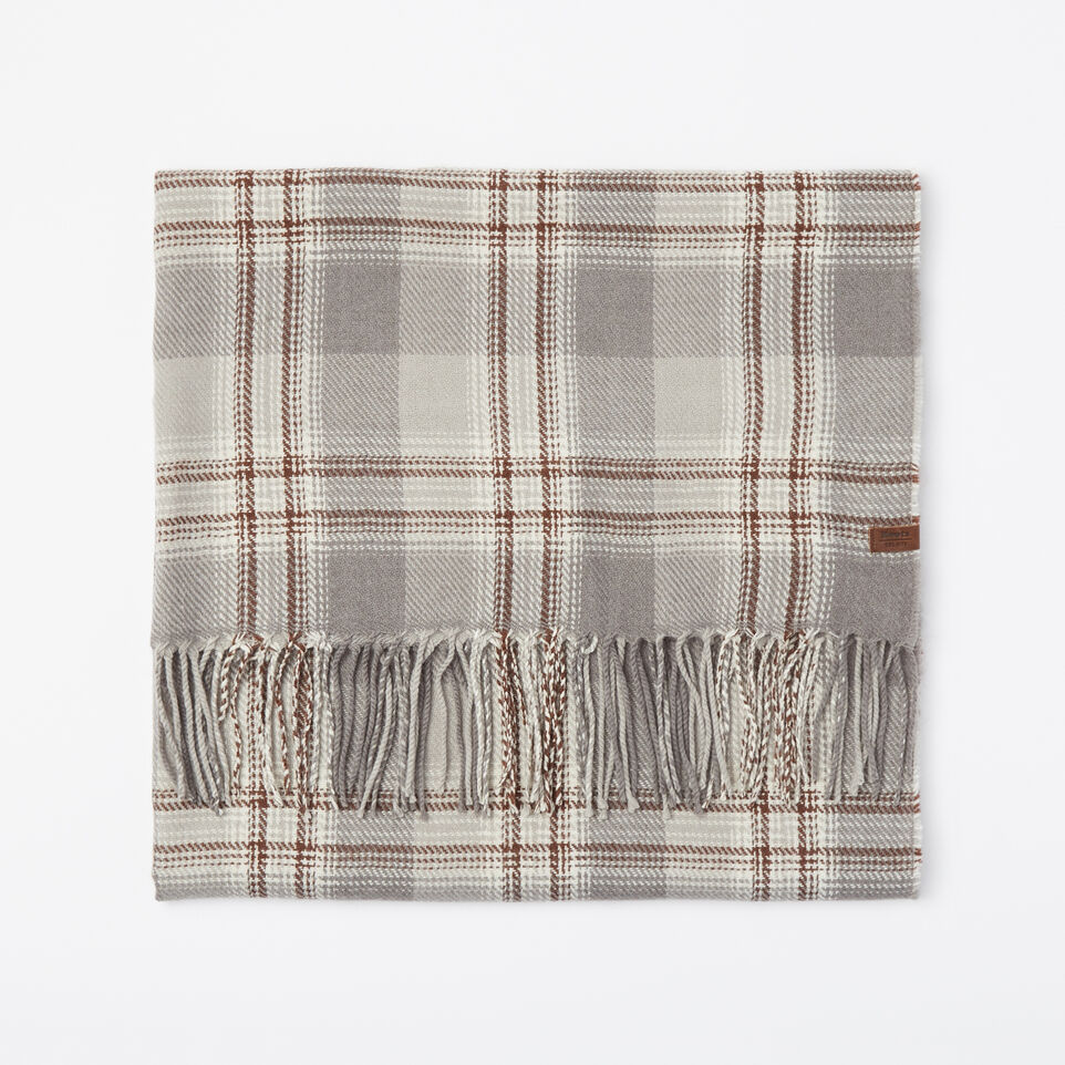 Roots-undefined-Ryleigh Plaid Scarf-undefined-A