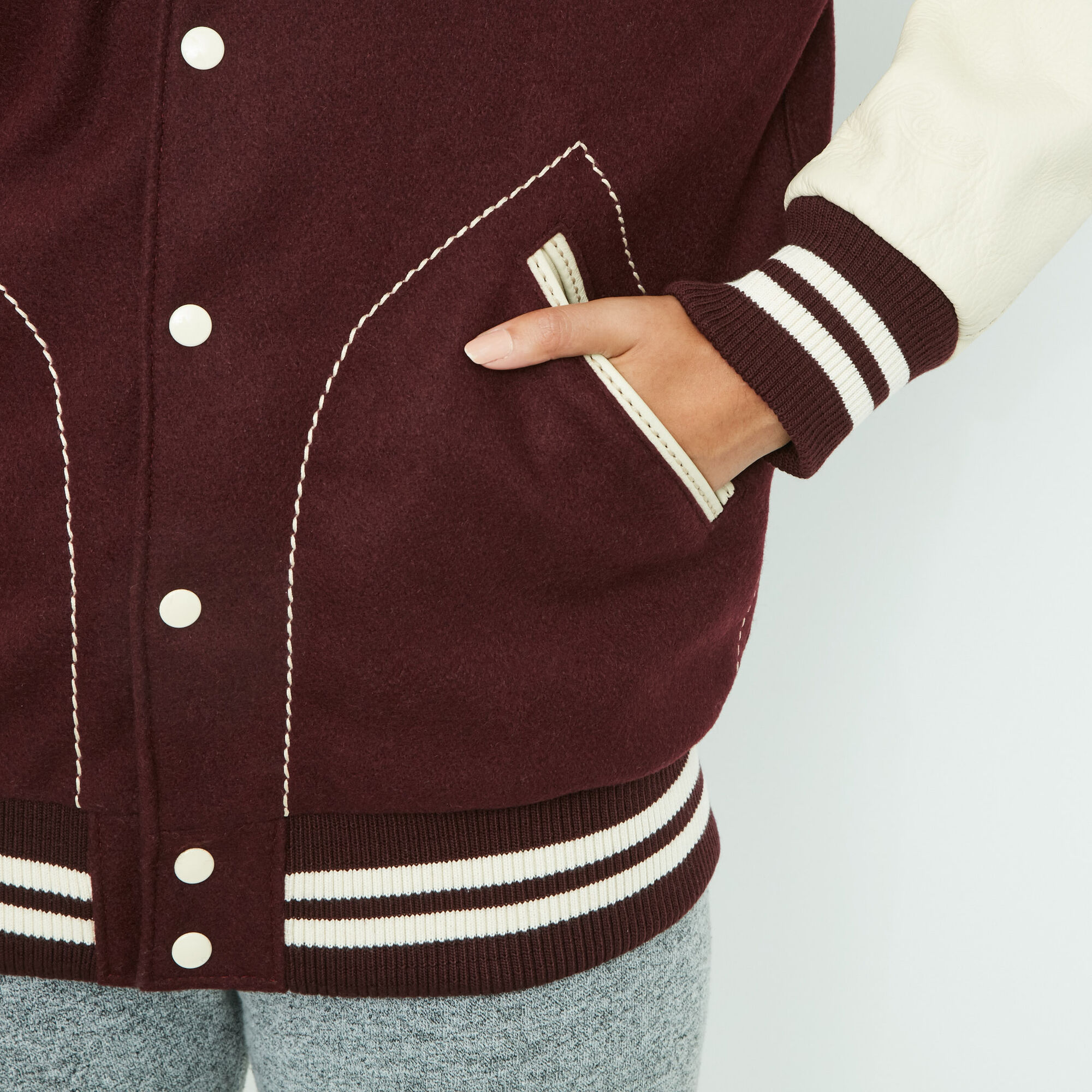 Womens Boyfriend Varsity Jacket