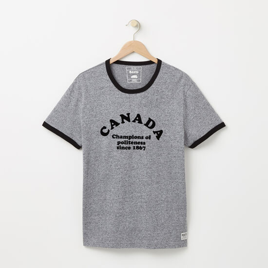 Canadian Champs Ringer T-shirt