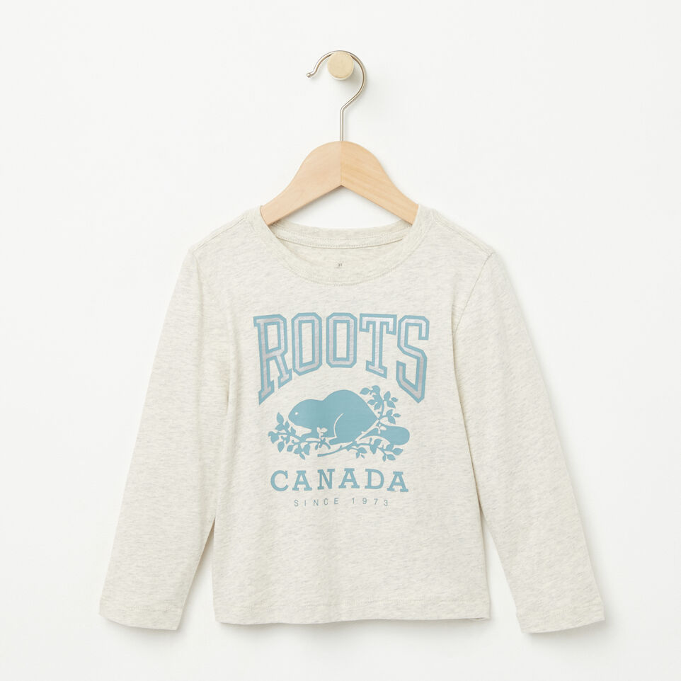 Roots-undefined-Toddler Foil RBC T-shirt-undefined-A