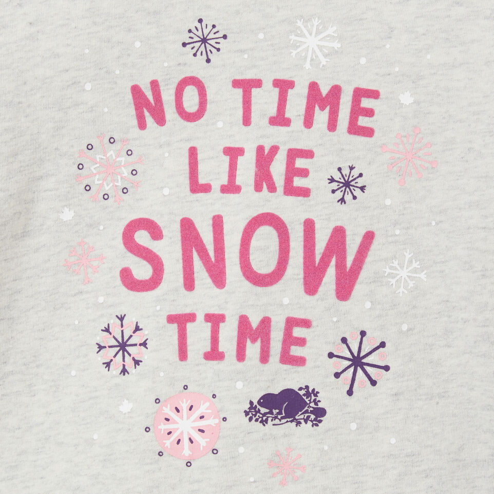 Roots-undefined-Baby Snow Time T-shirt-undefined-C