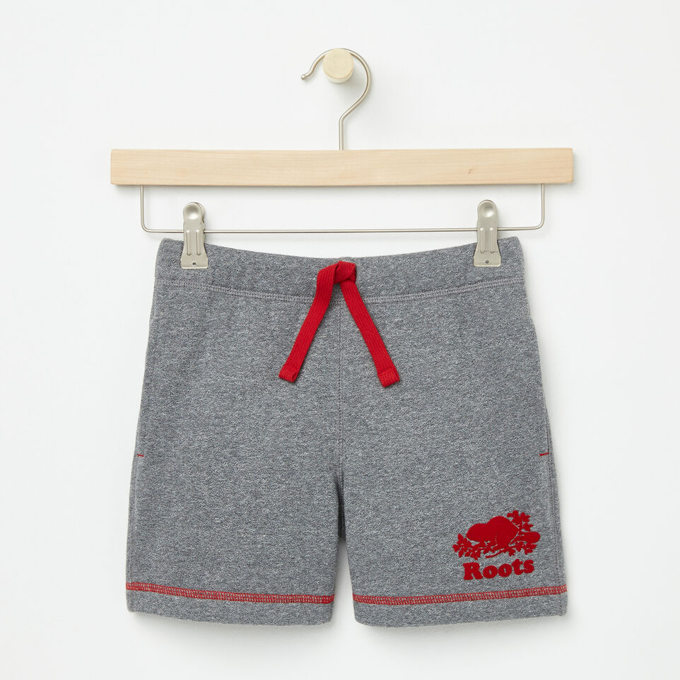 Roots-undefined-Girls Cooper Canada Sweat Shorts-undefined-A