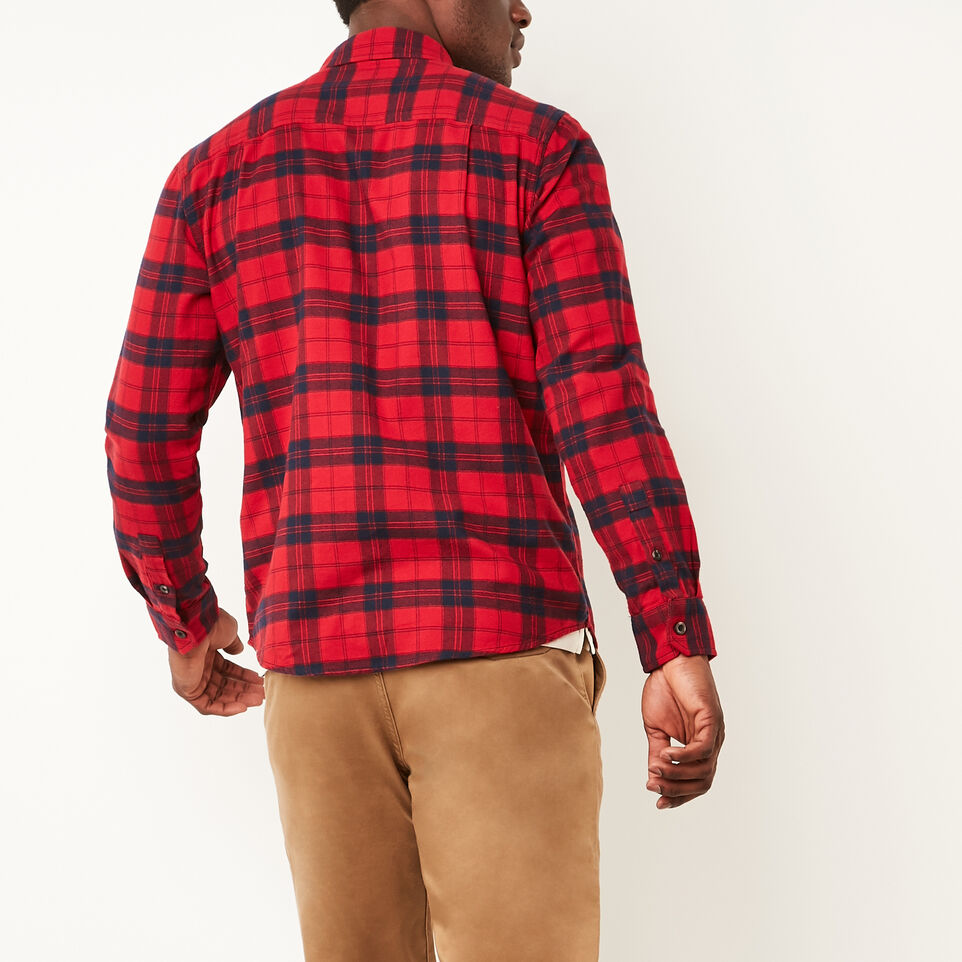 Roots-undefined-Manning Light Weight Flannel Shirt-undefined-D