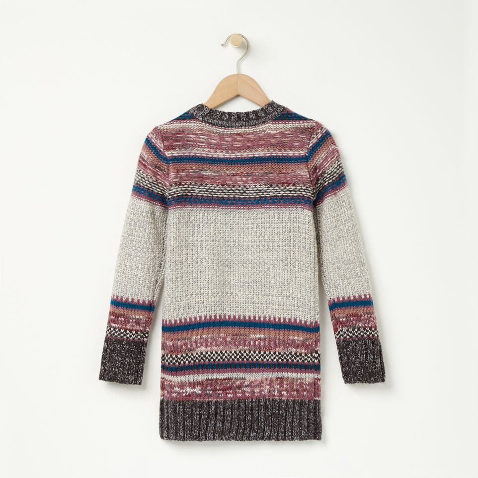 Roots-undefined-Girls Fair Isle Sweater Tunic-undefined-B
