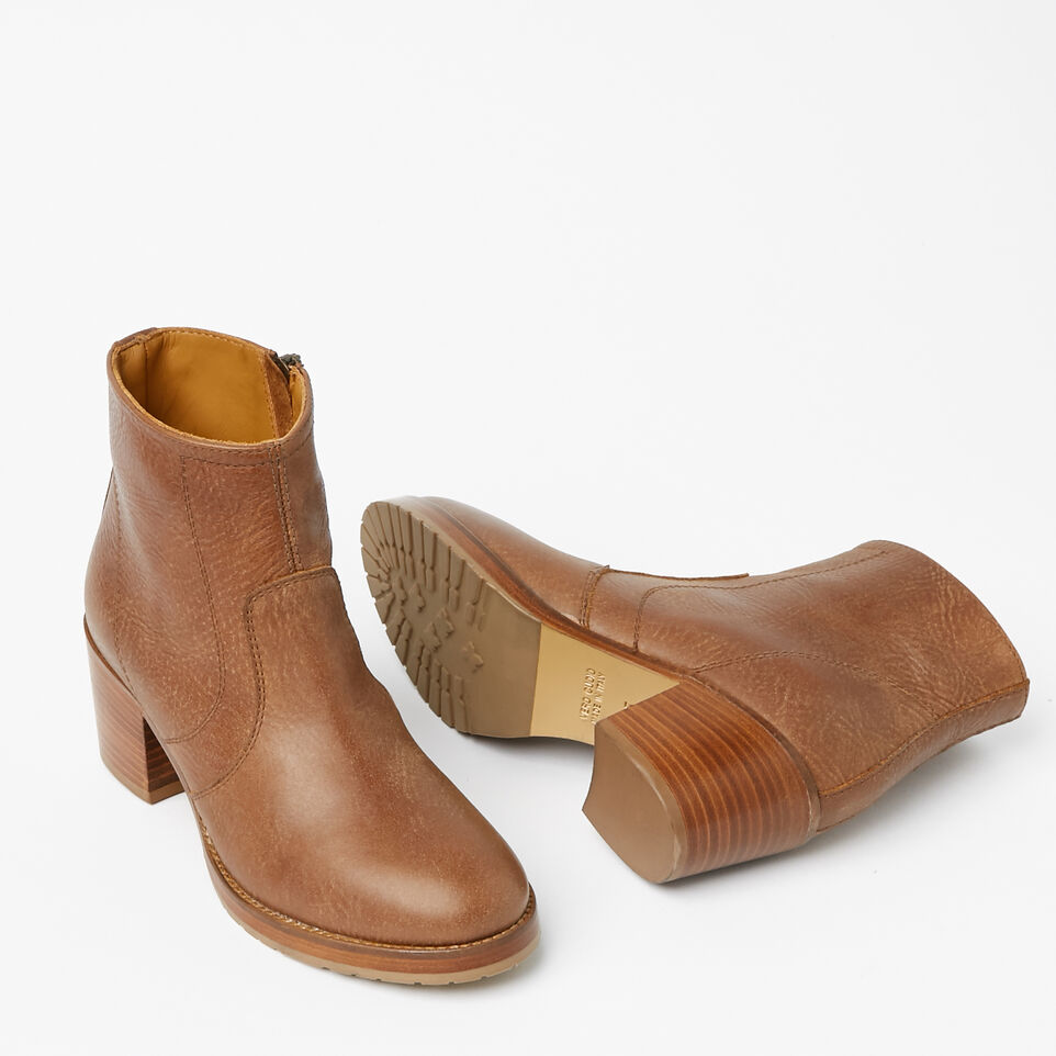 Roots-undefined-Italian Zip Bootie Tribe-undefined-E