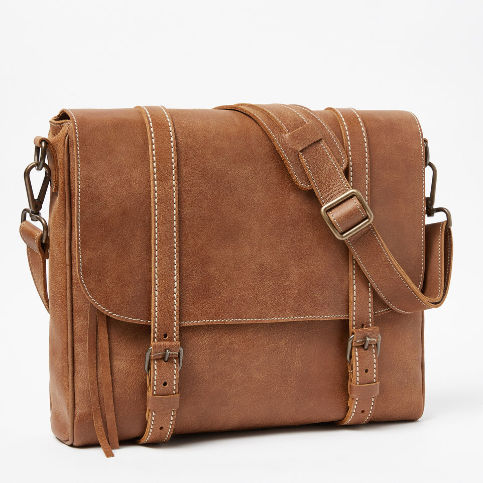 Roots-undefined-Satchel Moderne Cuir Tribe-undefined-A