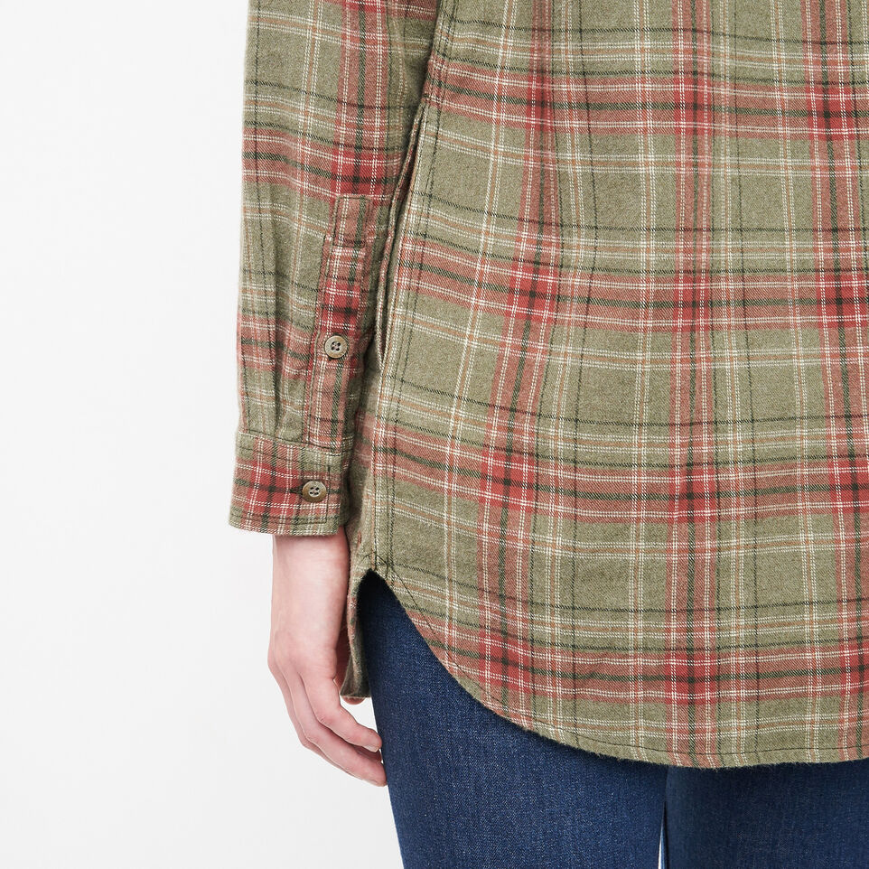 Roots-undefined-Tisdale Flannel Tunic-undefined-F