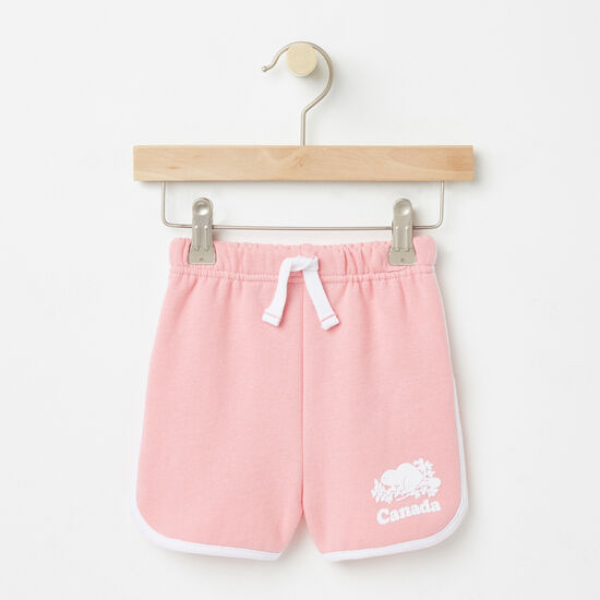 Roots-Sale Toddler-Toddler Cooper Canada Shorts-Peony Pink-A