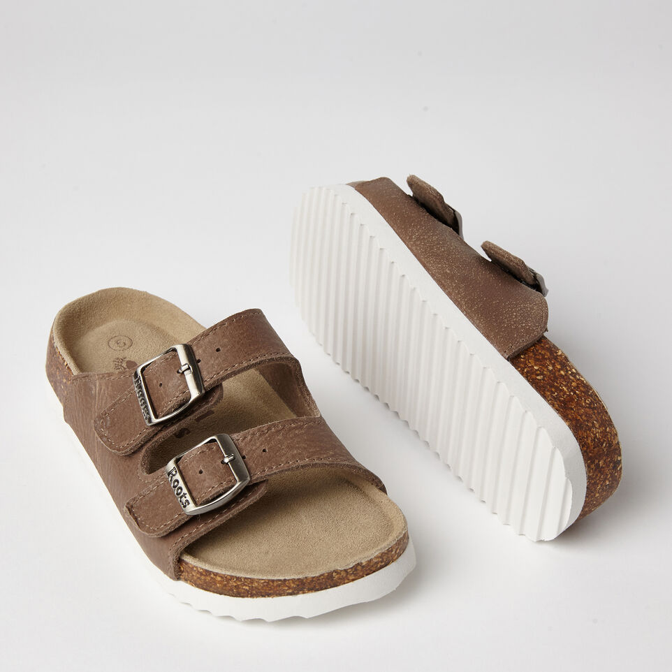 Roots-undefined-Womens Natural Roots 2 Strap Tribe-undefined-F