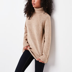 Roots-Women Bestsellers-Roslyn Tunic-Camel Mix-A