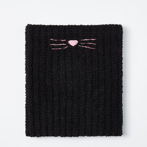 Roots-Kids Accessories-Girls Sophie Snood-Black-A