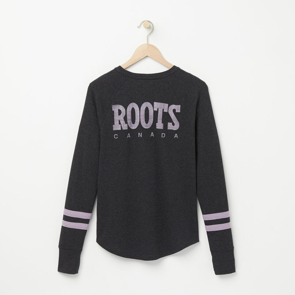 Roots-undefined-Retro Roots Long Sleeve T-shirt-undefined-B