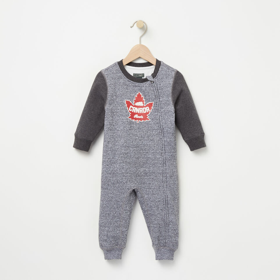 Roots-undefined-Baby Heritage Canada Romper-undefined-A