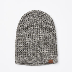 Roots-Women Hats-Lori Sloppy Toque-Salt & Pepper-A