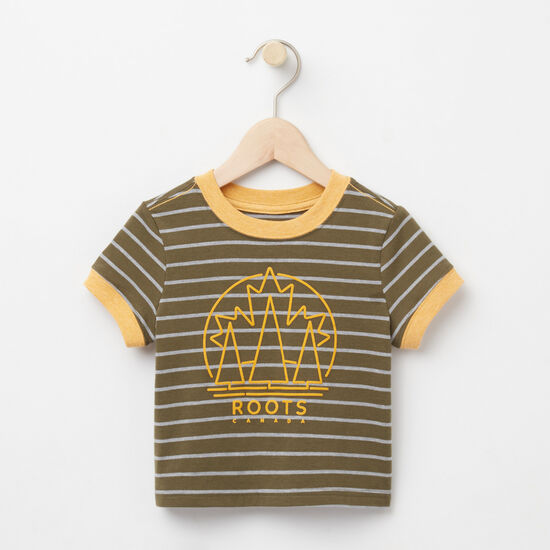 Roots-Sale Baby-Baby Moncton Ringer Top-Ivy Green-A