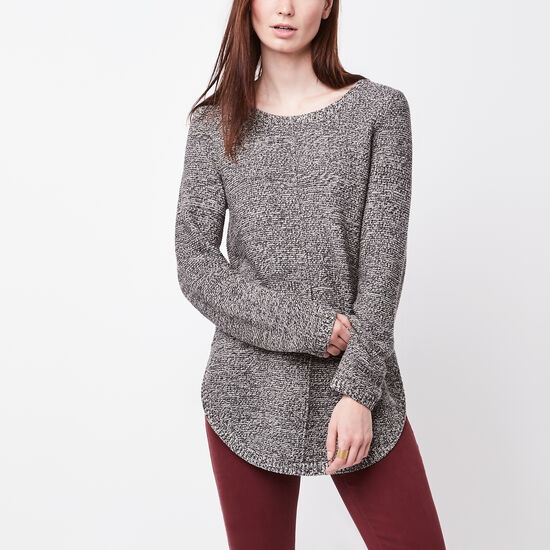 Roots-Women Sweaters & Cardigans-Faye Sweater-Speckle-A
