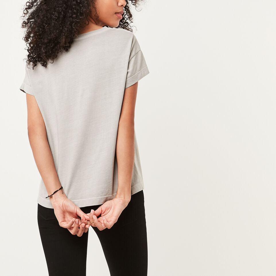Roots-undefined-Boyfriend Pocket T-shirt-undefined-D