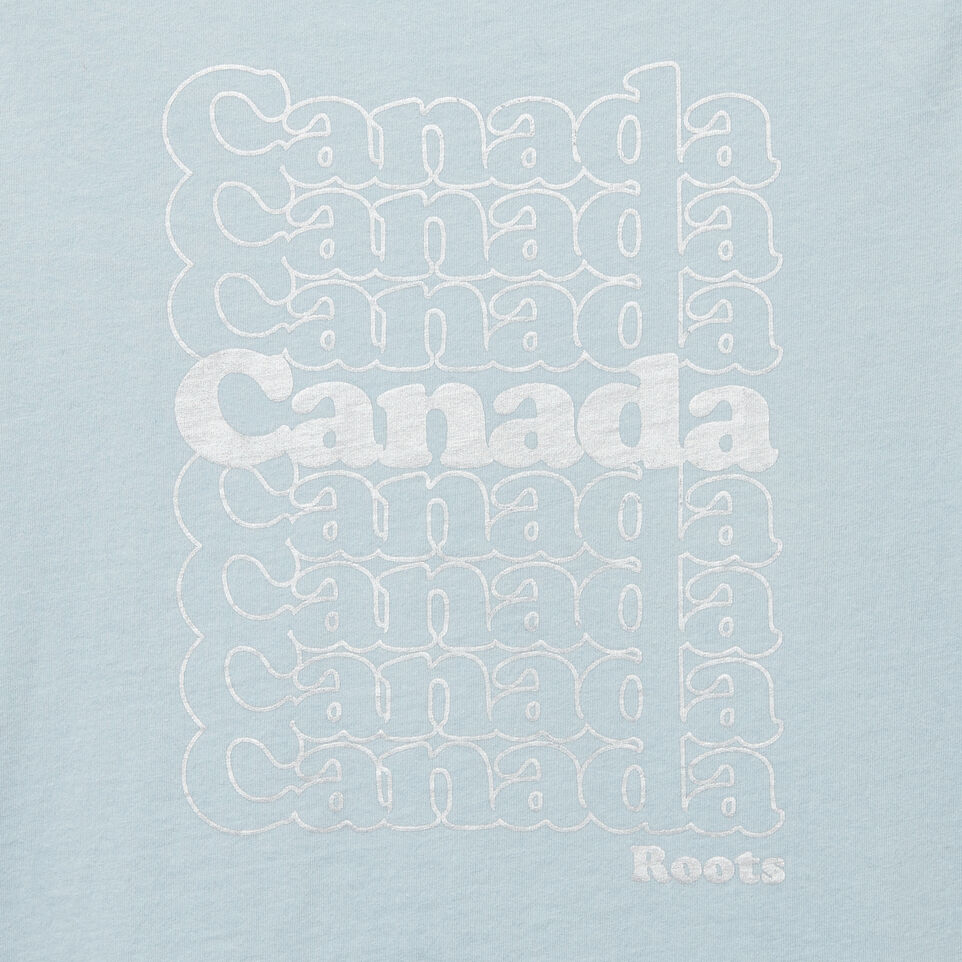 Roots-undefined-Girls Foil Canada Stack T-shirt-undefined-C