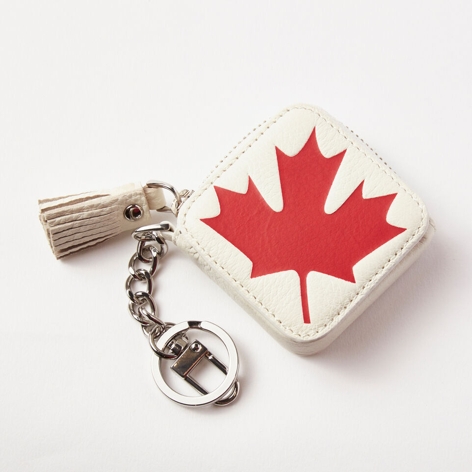Roots-undefined-Canada Flag Key Chain Pouch Prince-undefined-A