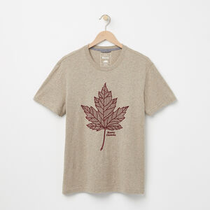 Roots-Sale Men-Norris T-shirt-Dk Flaxseed Mix-A