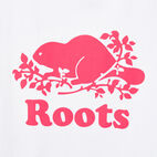 Roots-undefined-Cooper Beaver T-shirt Pink-undefined-C