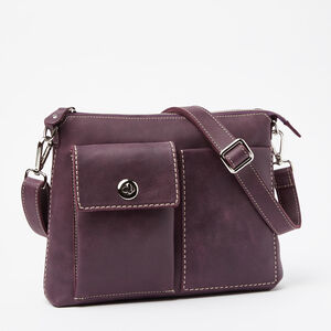 Roots-Gifts Roots Genuine Leather-The Villager Tribe-Deep Purple-A