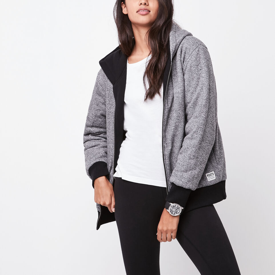 RBA Boyfriend Reversible Hoody | Roots