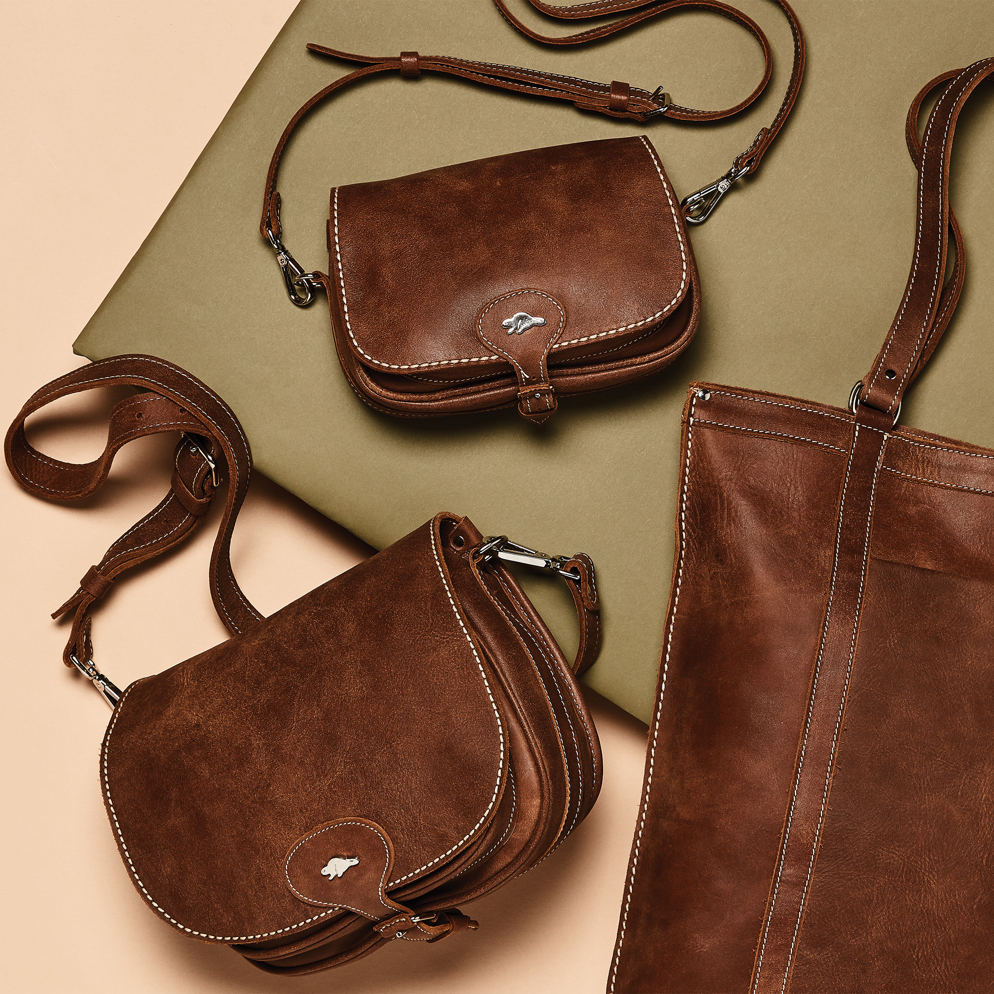 Roots-Leather Tribe Leather Collection-Shop The Look: The Heritage Leather Collection-E