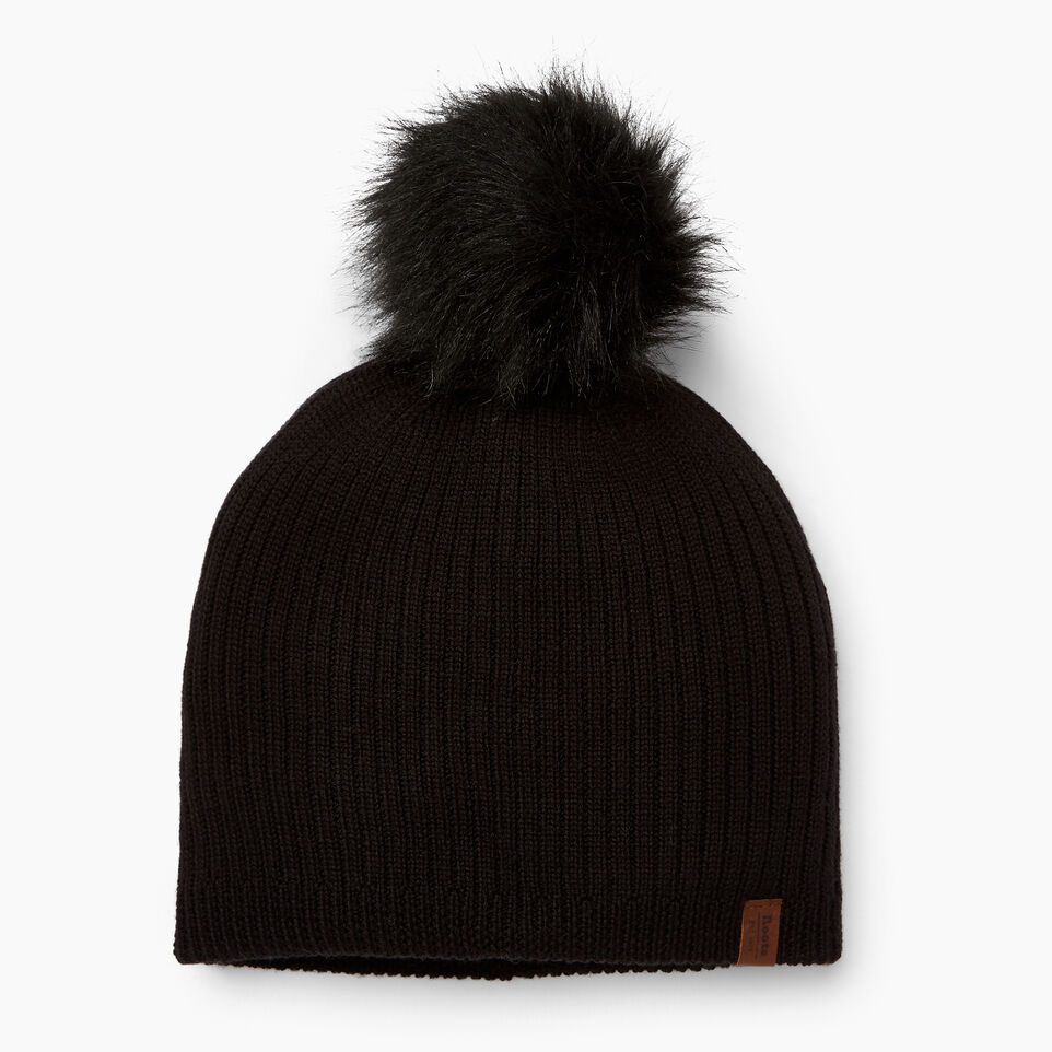 Roots-undefined-Dorval Faux Fur Pom Pom Toque-undefined-A