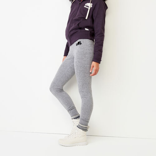 Roots-Women Bottoms-Buddy Cozy Skinny Sweatpant-Salt & Pepper-A