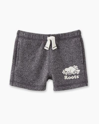Roots-Kids Baby-Baby Original Short-Charcoal Pepper-A