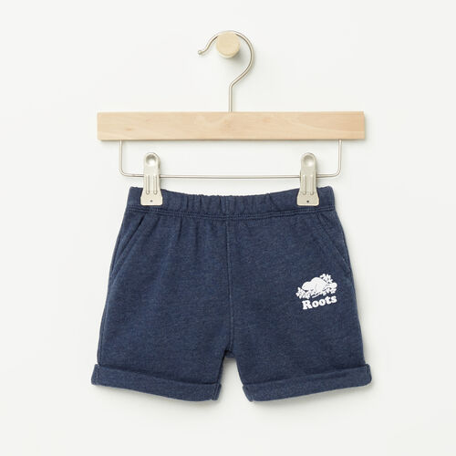 Roots-Kids Bestsellers-Baby Jasper Short-Cascade Blue Mix-A