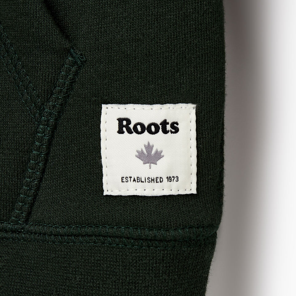 Roots-Sale Kids-Boys Original Full Zip Hoody-Park Green-D