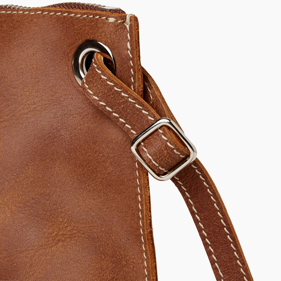 Roots-Leather  Handcrafted By Us Our Favourite New Arrivals-Edie Bag-Natural-F